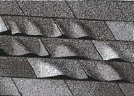 Loose, Bending or Curling Shingles